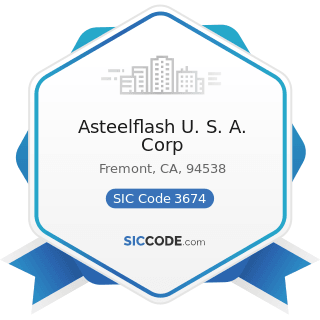 Asteelflash U. S. A. Corp - SIC Code 3674 - Semiconductors and Related Devices