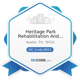 Heritage Park Rehabilitation And Skilled Nursing C - SIC Code 8051 - Skilled Nursing Care...