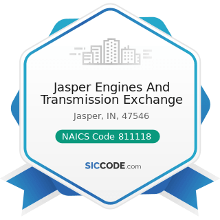 Jasper Engines And Transmission Exchange - NAICS Code 811118 - Other Automotive Mechanical and...
