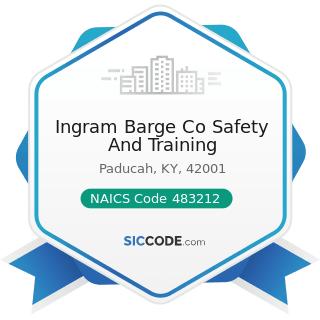 Ingram Barge Co Safety And Training - NAICS Code 483212 - Inland Water Passenger Transportation