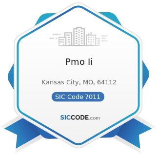 Pmo Ii - SIC Code 7011 - Hotels and Motels