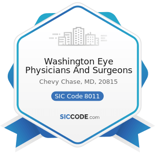 Washington Eye Physicians And Surgeons - SIC Code 8011 - Offices and Clinics of Doctors of...