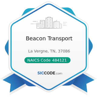 Beacon Transport - NAICS Code 484121 - General Freight Trucking, Long-Distance, Truckload
