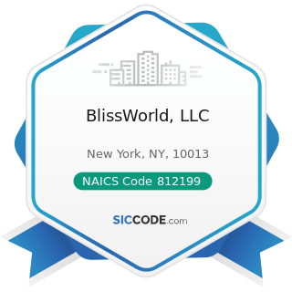 BlissWorld, LLC - NAICS Code 812199 - Other Personal Care Services