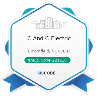 C And C Electric - NAICS Code 221118 - Other Electric Power Generation