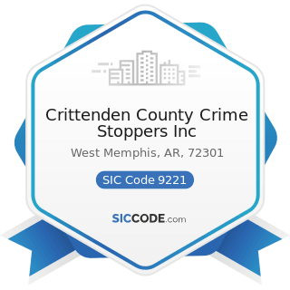 Crittenden County Crime Stoppers Inc - SIC Code 9221 - Police Protection