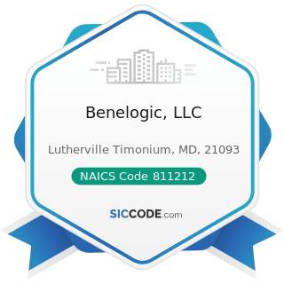 Benelogic, LLC - NAICS Code 811212 - Computer and Office Machine Repair and Maintenance