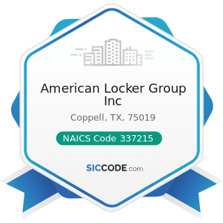 American Locker Group Inc - NAICS Code 337215 - Showcase, Partition, Shelving, and Locker...