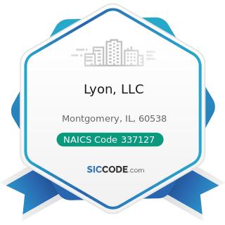 Lyon, LLC - NAICS Code 337127 - Institutional Furniture Manufacturing