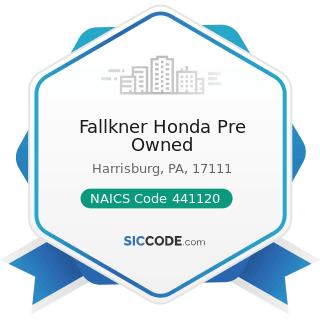 Fallkner Honda Pre Owned - NAICS Code 441120 - Used Car Dealers