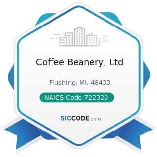 Coffee Beanery, Ltd - NAICS Code 722320 - Caterers