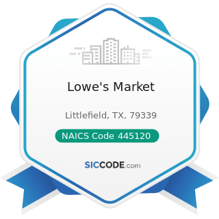 Lowe's Market - NAICS Code 445120 - Convenience Stores