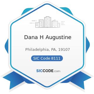 Dana H Augustine - SIC Code 8111 - Legal Services