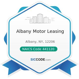 Albany Motor Leasing - NAICS Code 441120 - Used Car Dealers