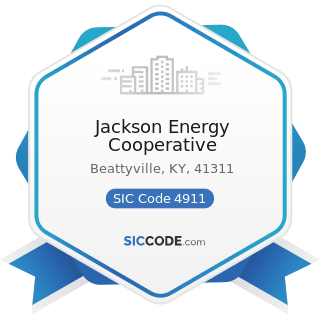 Jackson Energy Cooperative - SIC Code 4911 - Electric Services
