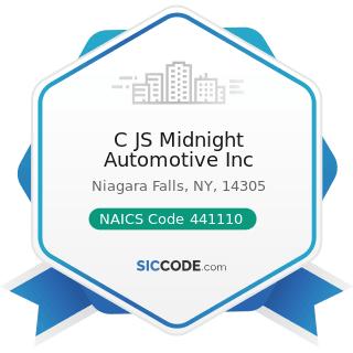 C JS Midnight Automotive Inc - NAICS Code 441110 - New Car Dealers