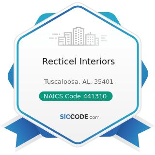 Recticel Interiors - NAICS Code 441310 - Automotive Parts and Accessories Stores