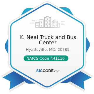 K. Neal Truck and Bus Center - NAICS Code 441110 - New Car Dealers