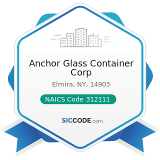 Anchor Glass Container Corp - NAICS Code 312111 - Soft Drink Manufacturing