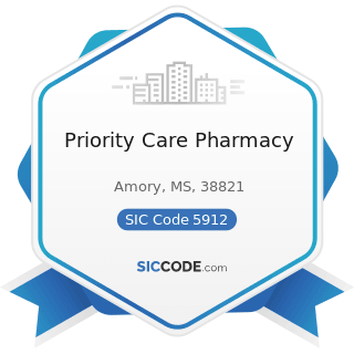 Priority Care Pharmacy - SIC Code 5912 - Drug Stores and Proprietary Stores