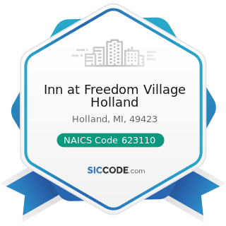 Inn at Freedom Village Holland - NAICS Code 623110 - Nursing Care Facilities (Skilled Nursing...