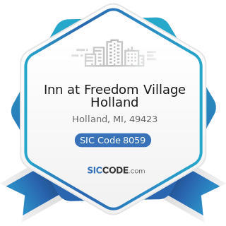 Inn at Freedom Village Holland - SIC Code 8059 - Nursing and Personal Care Facilities, Not...