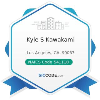 Kyle S Kawakami - NAICS Code 541110 - Offices of Lawyers