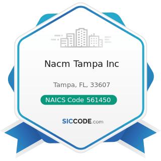 Nacm Tampa Inc - NAICS Code 561450 - Credit Bureaus
