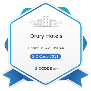 Drury Hotels - SIC Code 7011 - Hotels and Motels