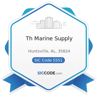 Th Marine Supply - SIC Code 5551 - Boat Dealers