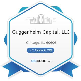 Guggenheim Capital, LLC - SIC Code 6799 - Investors, Not Elsewhere Classified