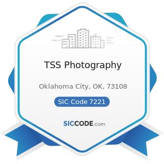 TSS Photography - SIC Code 7221 - Photographic Studios, Portrait