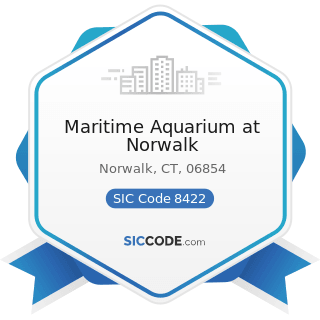 Maritime Aquarium at Norwalk - SIC Code 8422 - Arboreta and Botanical or Zoological Gardens