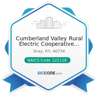 Cumberland Valley Rural Electric Cooperative Corp - NAICS Code 221118 - Other Electric Power...