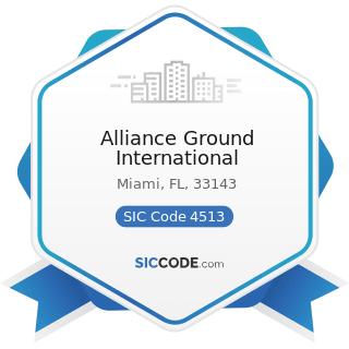 Alliance Ground International - SIC Code 4513 - Air Courier Services