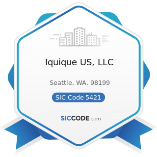 Iquique US, LLC - SIC Code 5421 - Meat and Fish (Seafood) Markets, including Freezer Provisioners