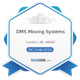 DMS Moving Systems - SIC Code 4214 - Local Trucking with Storage