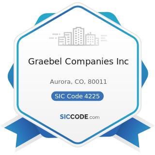 Graebel Companies Inc - SIC Code 4225 - General Warehousing and Storage