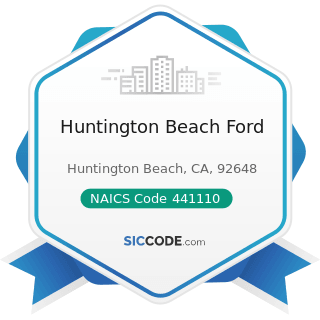Huntington Beach Ford - NAICS Code 441110 - New Car Dealers