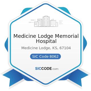 Medicine Lodge Memorial Hospital - SIC Code 8062 - General Medical and Surgical Hospitals