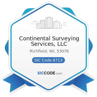 Continental Surveying Services, LLC - SIC Code 8713 - Surveying Services