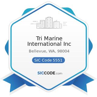 Tri Marine International Inc - SIC Code 5551 - Boat Dealers