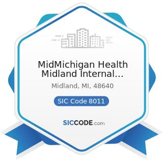 MidMichigan Health Midland Internal Medicine Associates - SIC Code 8011 - Offices and Clinics of...