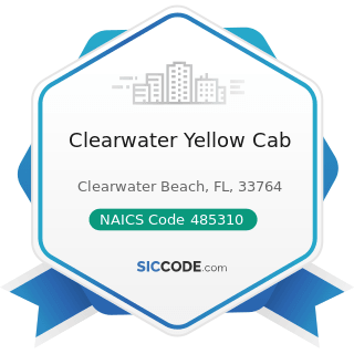 Clearwater Yellow Cab - NAICS Code 485310 - Taxi Service