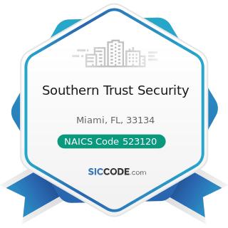 Southern Trust Security - NAICS Code 523120 - Securities Brokerage