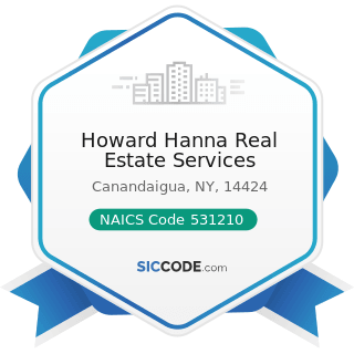 Howard Hanna Real Estate Services - NAICS Code 531210 - Offices of Real Estate Agents and Brokers