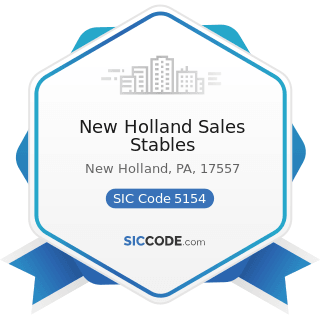 New Holland Sales Stables - SIC Code 5154 - Livestock