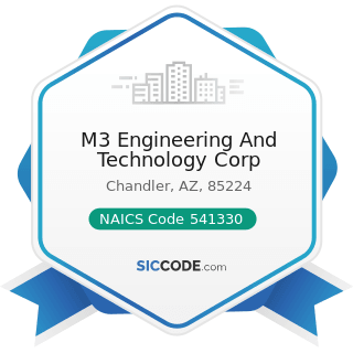 M3 Engineering And Technology Corp - NAICS Code 541330 - Engineering Services
