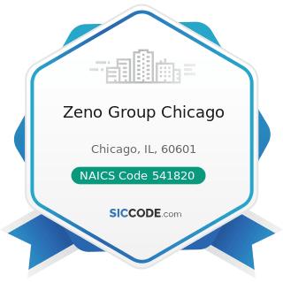 Zeno Group Chicago - NAICS Code 541820 - Public Relations Agencies