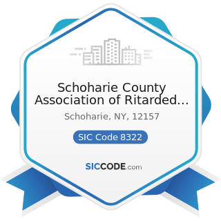 Schoharie County Association of Ritarded Citizens - SIC Code 8322 - Individual and Family Social...
